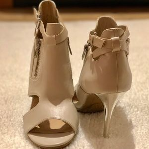 FOREVER 21 Beige Colored 4inch Heels 👠